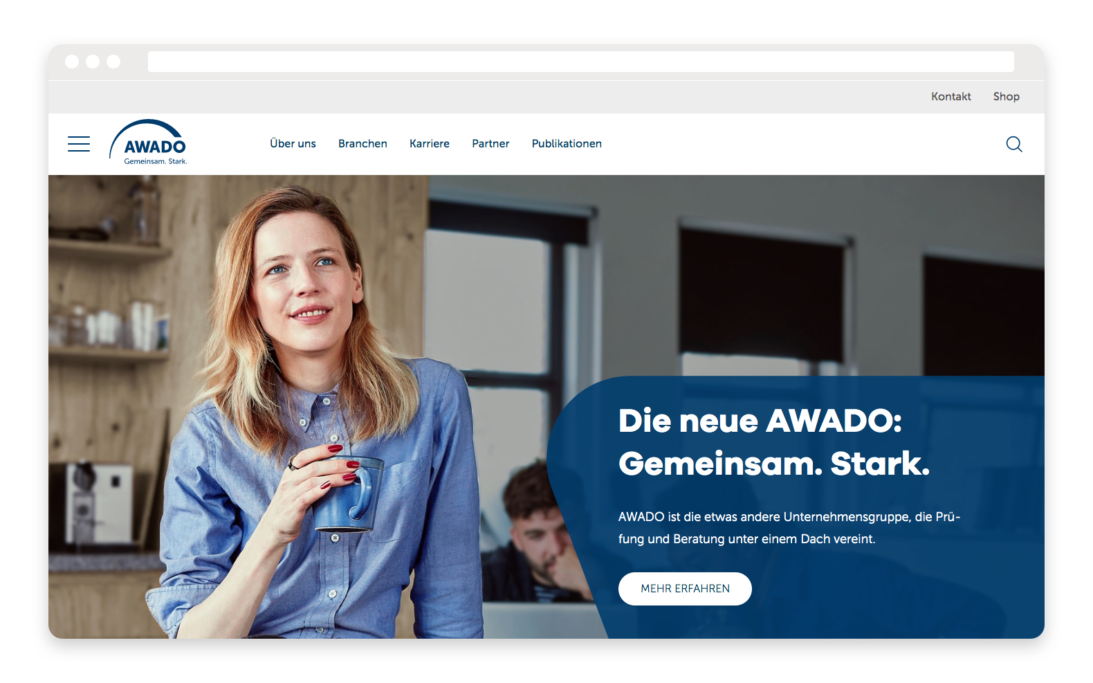 AWADO Website Relaunch